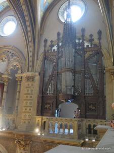 Antiguo órgano - Abadía de Montserrat