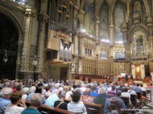 Público - concierto de órgano