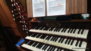 Claviers - Orgue Cavaillé-Coll - Bayeux
