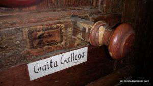 Órgano de Cadaqués - registros - Detalle
