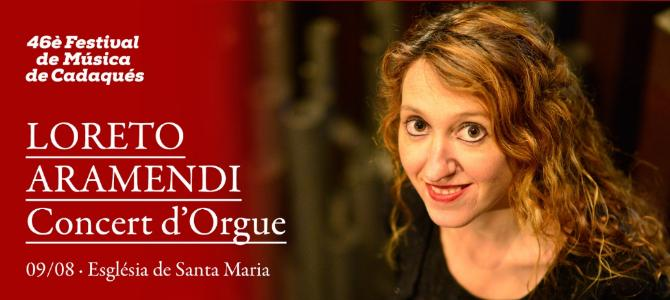Concert à l'orgue l'orgue Grenzing – festival de Cadaqués – Août 2017