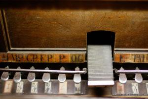 Spanish Aristide Cavaillé-Coll pipe organ - Pedal- Basilica Santa Maria - San Sebastian - Basque country - Spain