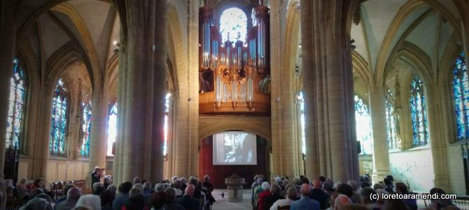 Concert at the Charleville cathedral – France –  August 2017