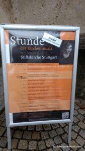 OrgelKonzert - Stuttgart - Orgel Adverts