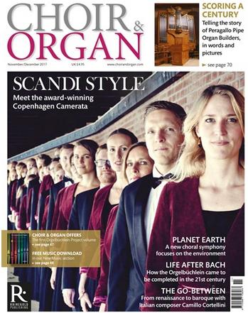 Choir & Organ - Front Cover - November 2017