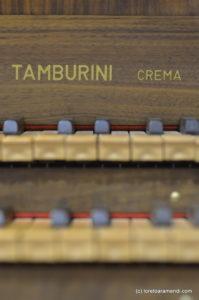 Órgano Tamburini - Auditorium Cassa di Risparmio di Firenze