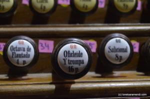 Registros del órgano Merklin, Murcia