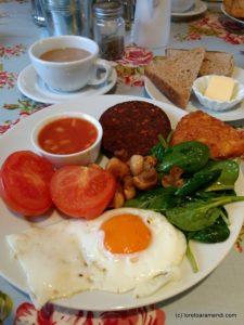 English Breakfast para recuperar del concierto