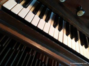 Teclado del órgano