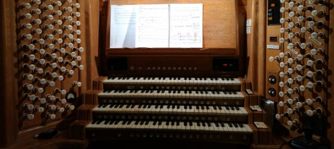 Organ Concert at the Norwich Cathedral – England – January 2018