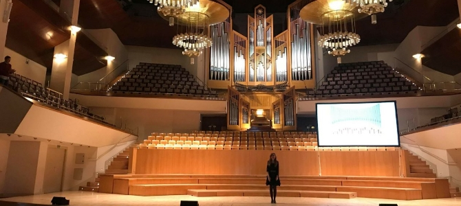 Bach-Vermut Concert at the national Auditorium of Madrid – February 2018