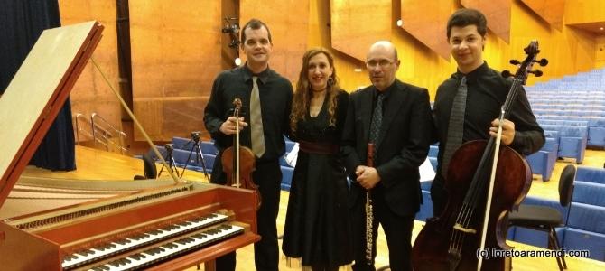 Musique ancienne à l'auditorium Euskalduna – Bilbao – Février 2018