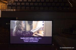 Loreto Aramendi - Danse macabre - Auditorio Nacional - Madrid