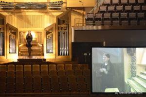 Loreto Aramendi y su registrante - Auditorio Nacional - Madrid