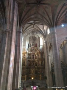 Iglesia San Vicente - Retable - San Sebastian