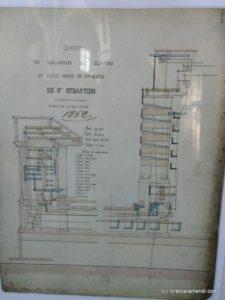 Plano original - Órgano Cavaillé-Coll - Santa María - San Sebastián