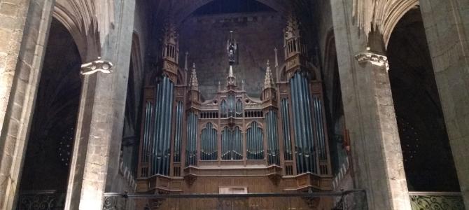 Concert à  l'orgue Cavaillé-Coll – San Vicente – San Sebastien – Mars 2018