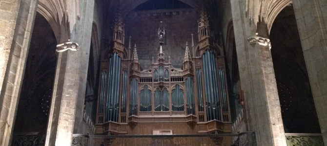 Concert at the Cavaillé-Coll pipe organ – San Vicente – San Sebastian – March 2018