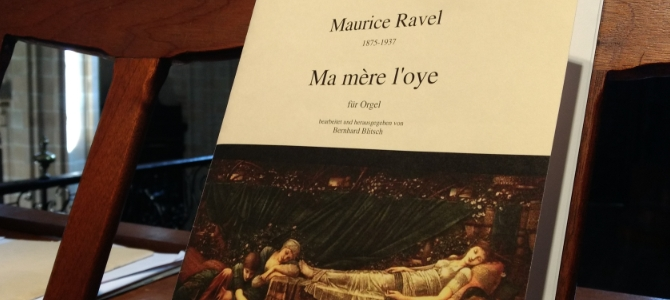 Transkriptionen – Maurice Ravel für Orgel – Basilika Santa María – San Sebastian – März 2018