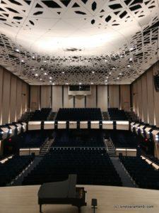 Auditorium, Voxman Music building, School of Music, Iowa City