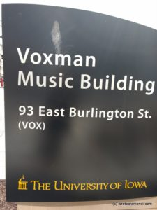 Voxman building, School of Music, Iowa City