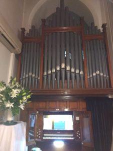 Consola - Organo - Atenas