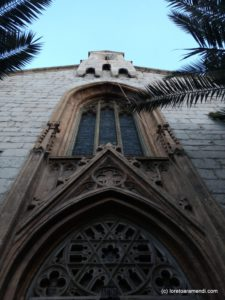 Front - Anglican church - Athens - Greece