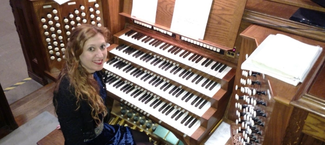 Concert à l'université Princeton, orgue Skinner/Mander (1928), USA, Avril 2018