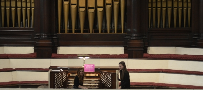 Concert pour l'AGO Brooklyn – Skinner organ – USA – Avril 2018