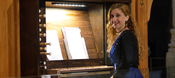 Concert à l'orgue Carlos Alvarez (2017) de Caspe – Mai 2018