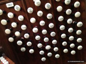 Stops - Pipe Organ - Plymouth church - Brooklyn