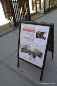 Concert - Loreto Aramendi - Plymouth church - Brooklyn