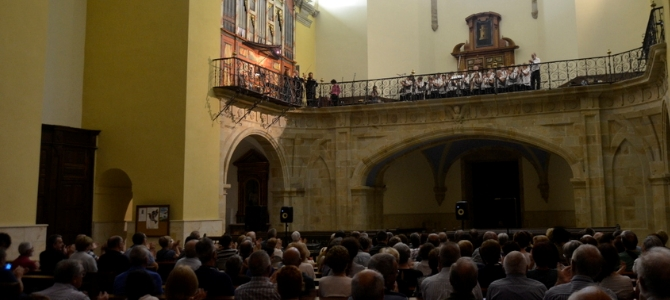 Concierto al órgano Lorenzo Arrazola (1761) – Ataun- País Vasco – Julio 2018