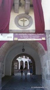 Concierto de órgano en el castillo de Kremnica - Kreminica - Loreto Aramendi
