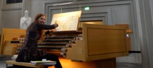 Loreto Aramendi at Hallgrimskirkju - Iceland pipe organ festival