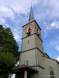 Organ concert - Burgdorf - Switzerland - Loreto Aramendi