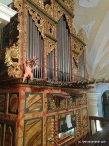 Órgano Tadeo Ortega - 1776 - Capillas - Palencia