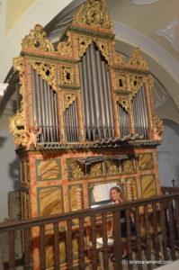 Concierto de órgano Tadeo Ortega - Loreto Aramendi - Capillas - Palencia