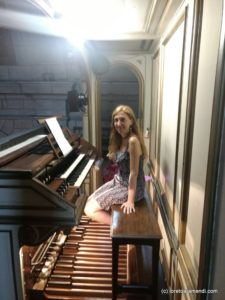 Organ concert in Santander International Festival - Spain