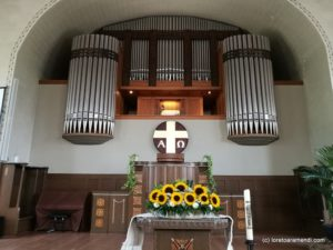 Organ Concert by Loreto Aramendi- Spiez church - Switzerland