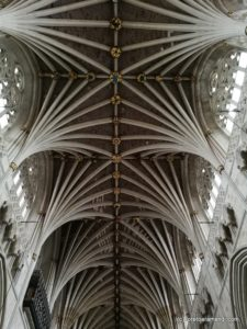 Concierto al órgano Loosemore/Harrisson en la cathedral de Exeter - Inglaterra - Agosto 2018