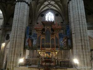 Órgano - Catedral Salamanca