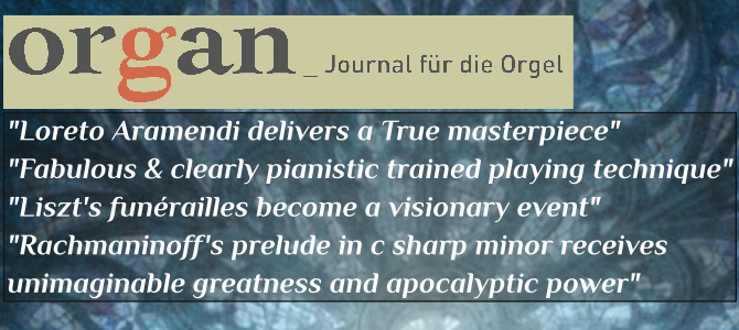 "Organ – Journal für die Orgel, review of the CD ""Transcriptions"""