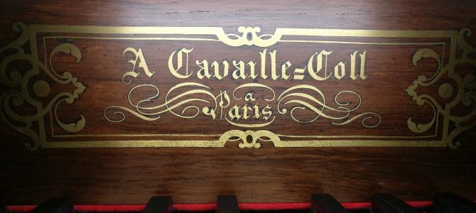 Concert à l'orgue Cavaillé-Coll de l'abbaye de Caen