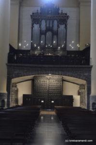 Interior de Iglesía de Santa María - Tolosa - Pais vasco