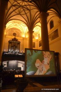 Concierto de películas - El rey Leon - Tolosa