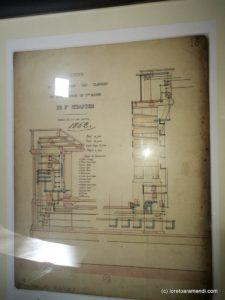 Plan del órgano Cavaillé-Coll - 1863 - Basílica de Santa Maria de Coro