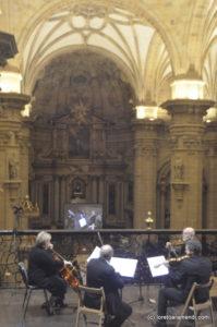 Cuarteto de cuerda - - Órgano Cavaillé-Coll de la Basílica Santa María del Coro