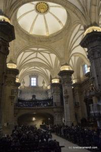 La basílica y el publico