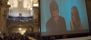 Concierto de música de películas en la basílica de Santa Maria